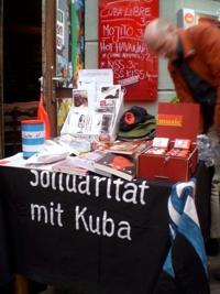 Aktiv für Kuba mit Infoständen und Veranstaltungen